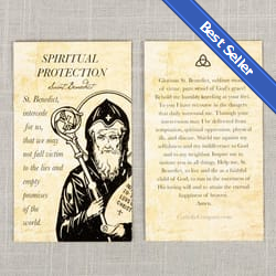 Saint Prayer Cards, Saint Holy Cards | The Catholic Company