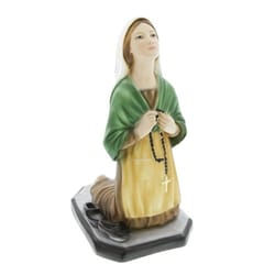 St.Bernadette Resin Statue- 9 inches