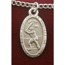 Baseball Medals Patron Saint Baseball Medals The