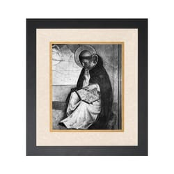 St. Dominic (Matted w/ Black Frame)