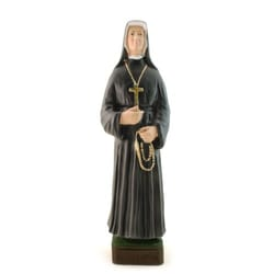 St. Faustina Statue, 9 inch