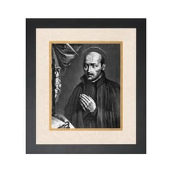 St. Ignatius of Loyola (Matted w/ Black Frame)