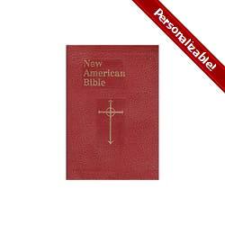 St. Joseph NAB-RE Personal Size Edition - Burgundy Imitation Leather