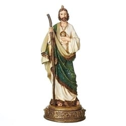 St. Jude Heavenly Protector on Base - 10.75 inches