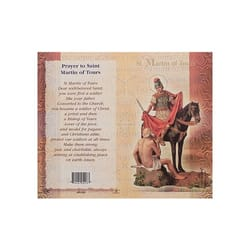 St. Martin of Tours - Mini Lives of the Saints Folded Prayer Card