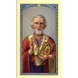 St. Nicholas – A Prayer for Children - Prayer Card