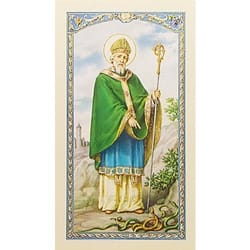 St. Patrick's Breastplate - Prayer Card