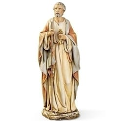 St Peter Figure - 10 inch