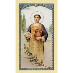 St. Stephen - Prayer Card