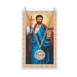 St. Timothy Prayer Card and Medal