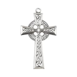 Sterling Silver Celtic Cross with 24 inch chain