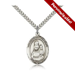 Sterling Silver Our Lady of Loretto Pendant w/ chain