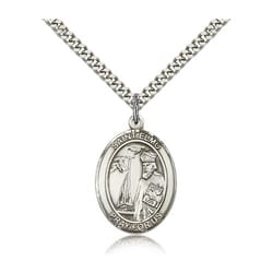 Sterling Silver St. Elmo Pendant w/ chain