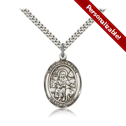 Sterling Silver St. Germaine Cousin Pendant w/ chain