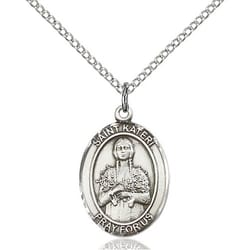 Sterling Silver St. Kateri Pendant w/ Chain