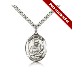 Sterling Silver St. Lawrence Pendant w/ chain