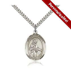 Sterling Silver St. Remigius of Reims Pendant w/ chain
