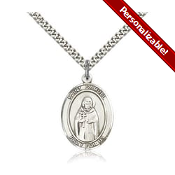 Sterling Silver St. Samuel Pendant w/ chain