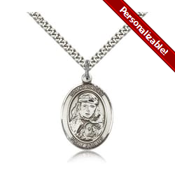 Sterling Silver St. Sarah Pendant w/ chain