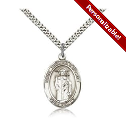 Sterling Silver St. Thomas A Becket Pendant w/ chain