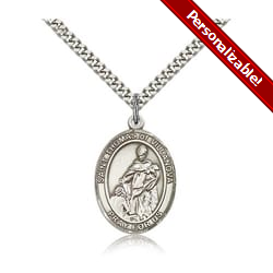 Sterling Silver St. Thomas of Villanova Pendant w/ chain