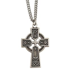 Small Sterling Celtic Cross