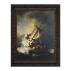 Storm at the Sea of Galilee w/ Dark Ornate Frame