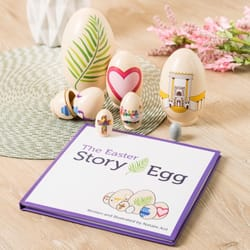 Childrens easter gifts the catholic company the easter story egg negle Choice Image