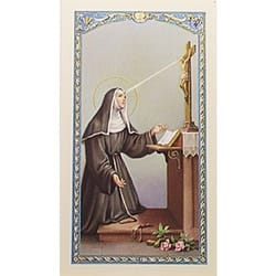 Triduo a Santa Rita de Casia (St. Rita) – Spanish Prayer Card