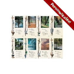 Wayside Series Personalized Prayer Card (Priced Per Card)