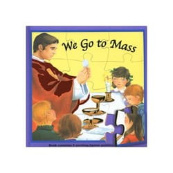 We Go To Mass Puzzle Book
