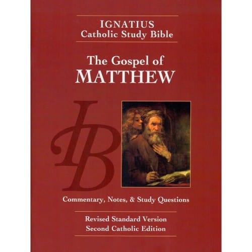 Ignatius Catholic Study Bible - The Gospel of Matthew 2nd Edition by...