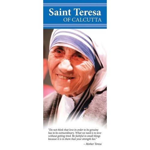 Mother Teresa Canonization Pamphlets (50 Pk)