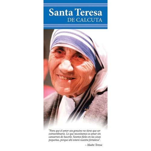 Mother Teresa Canonization Pamphlets (Spanish 50 Pk)