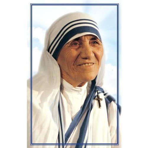 Mother Teresa Canonization Prayer Card (Spanish 50 Pk)