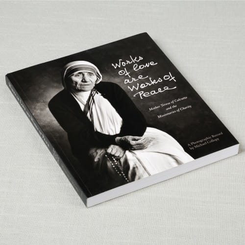 Works of Love Are Works of Peace by Michael Collopy