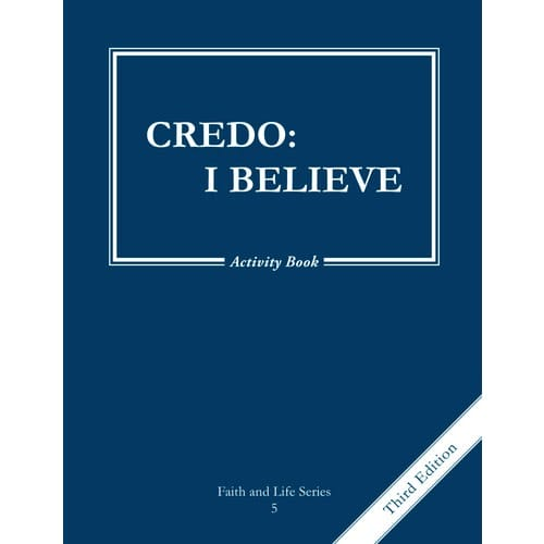 Credo - I Believe - Grade 5 Activity Book, 3rd Edition