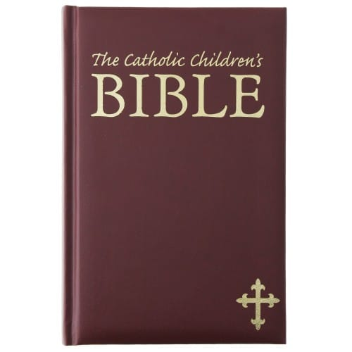 Catholic Children's Bible - Maroon