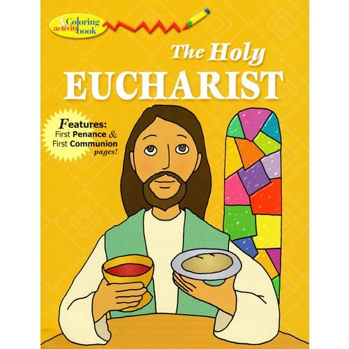 The Holy Eucharist Coloring Book