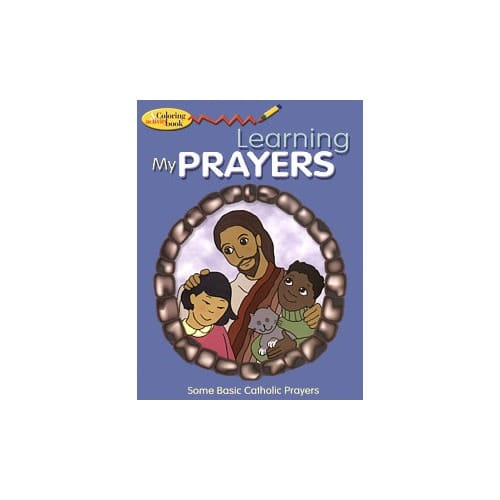 Learning My Prayers Coloring and Activity Book