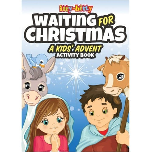 Waiting For Christmas: A Kids' Advent Activity Book