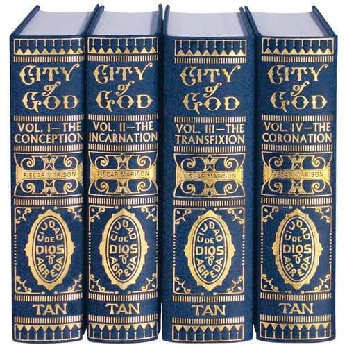 Mystical City of God: Set of 4