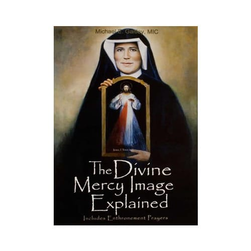 Divine Mercy Image Explained Booklet