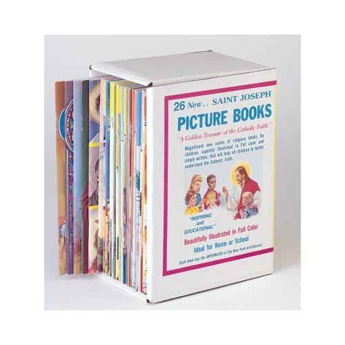 St. Joseph Picture Books (Boxed Gift Set of 26 Books)