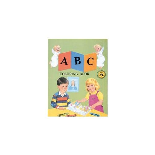 Catholic A,B,C Coloring Book