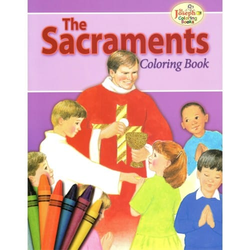 The Sacraments Coloring Book