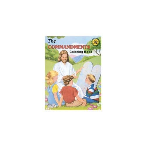 The Commandments Coloring Book