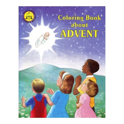 Coloring Book About Advent | The Catholic Company
