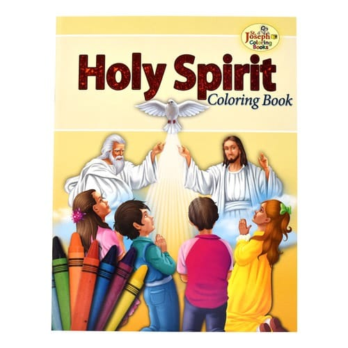 Coloring Book About Holy Spirit