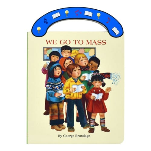 We Go To Mass Board Book